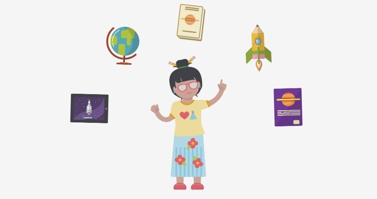 amazon inspire - professora criando aulas digitais