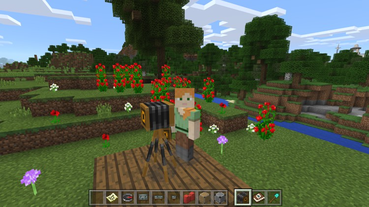 minecraft education edition - camera fotografica