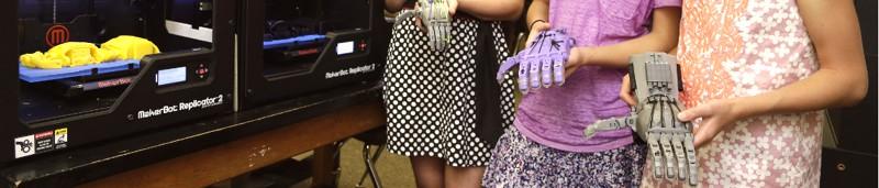 próteses de mãos para as crianças